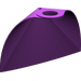 LEGO Purple Standard Cape with Regular Starched Texture