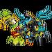 LEGO QUEEN Beast vs. FURNO, EVO & STORMER Set 44029