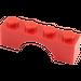 LEGO Red Arch 1 x 4 (3659)