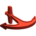 LEGO Red Boat Anchor