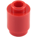 LEGO Red Brick 1 x 1 Round with Open Stud (3062)