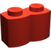 LEGO Red Brick 1 x 2 Log (30136)