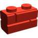 LEGO Red Brick 1 x 2 with Embossed Bricks (98283)