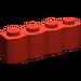 LEGO Red Brick 1 x 4 Log (30137)