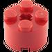 LEGO Red Brick 2 x 2 Round (3941 / 6143)