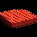 LEGO Red Brick 8 x 8 (4201 / 43802)