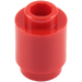 LEGO Red Brick Round 1 x 1 with Open Stud with Open Stud (3062)