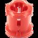 LEGO Red Bushing (6590 / 42798)