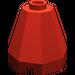 LEGO Red Cone 2 x 2 x 1 & 2/3 Octagonal (6039)