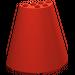 LEGO Red Cone 8 x 4 x 6 Half