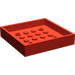 LEGO Red Container Box 6 x 6