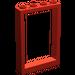 LEGO Rot Frame 1 x 4 x 5 mit hohlen Bolzen (2493)