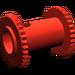LEGO Red Hose Reel 2 x 2