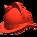 LEGO Red Minifig Helmet Morion