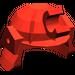 LEGO Red Minifig Helmet Samurai