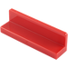 LEGO Red Panel 1 x 4 x 1 with Rounded Corners (15207 / 30413 / 43337)