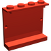LEGO Red Panel 1 x 4 x 3 without Side Supports, Solid Studs (4215)