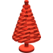 LEGO Red Pine Tree (large) 4 x 4 x 6 2/3