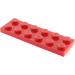 LEGO Red Plate 2 x 6 (3795)