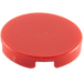 LEGO Red Round Tile 2 x 2 with Normal Bottom (4150)