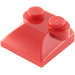 LEGO Red Slope 2 x 2 Curved with Curved End (47457)