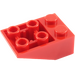 LEGO Red Slope 2 x 3 (25°) Inverted with Connections between Studs (3747)