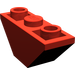 LEGO Red Slope 45° 3 x 1 Inverted Double (2341)