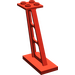 LEGO Red Support 2 x 4 x 5 Stanchion Inclined with Thick Supports (4476)
