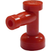 LEGO Red Tap 1 x 1 with Hole in End (4599)