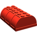 LEGO Red Trunk Lid 4 x 6 (4238)