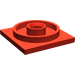 LEGO Red Turntable 4 x 4 Base (3403)