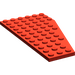 LEGO Red Wing 6 x 12 Left (30355)