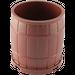 LEGO Reddish Brown Barrel 4 x 4 x 3.5 (30139)