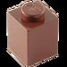 LEGO Brun rougeâtre Brique 1 x 1 (3005)