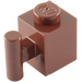 LEGO Reddish Brown Brick 1 x 1 with Handle (2921 / 28917)