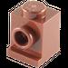 LEGO Reddish Brown Brick 1 x 1 with Headlight and Slot (4070)