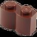 LEGO Reddish Brown Brick 1 x 2 Log (30136)