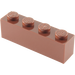 LEGO Reddish Brown Brick 1 x 4 (3010)