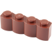 LEGO Reddish Brown Brick 1 x 4 Log (30137)