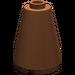 LEGO Reddish Brown Cone 2 x 2 x 2 (Open Stud) (3942)