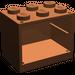 LEGO Reddish Brown Cupboard 2 x 3 x 2 with Solid Studs (4532)