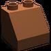 LEGO Reddish Brown Duplo Slope 45° 2 x 2 x 1.5 (6474)