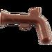 LEGO Brun rougeâtre Minifig Arme à feu Flintlock Pistol (2562)