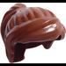 LEGO Reddish Brown Minifigure Medium Ponytail with Long Bangs (18227 / 87990)