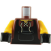 LEGO Minifigure Torso with Laced Shirt and Black Apron Bib (76382)