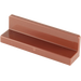 LEGO Reddish Brown Panel 1 x 4 x 1 with Rounded Corners (15207 / 30413 / 43337)