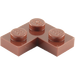 LEGO Reddish Brown Plate 2 x 2 Corner (2420)