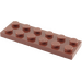LEGO Reddish Brown Plate 2 x 6 (3795)
