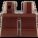 LEGO Reddish Brown Short Legs (41879 / 90380)