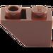 LEGO Reddish Brown Slope 1 x 2 (45°) Inverted (3665)